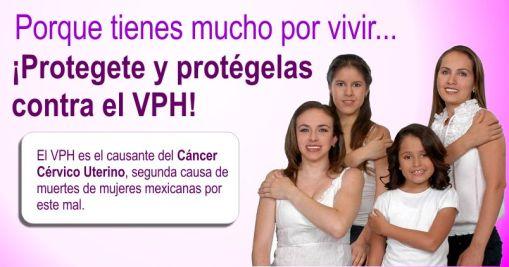 Campaña vacunación VPH
